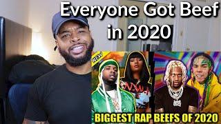BIGGEST RAP BEEFS OF 2020 | Reaction