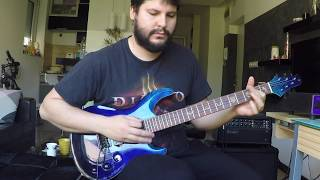 Oboss Custom Guitar – Giri's Kind of Blue