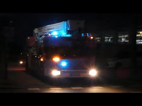 Zeer veel Politie, Brandweer en (MICU) Ambulance's met spoed in Oss, Heesch, Uden en Den Bosch