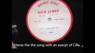 "Beatles Paul McCartney Rare Find  ""It's for you"" Demo Excerpt."