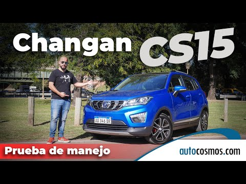 Test Changan CS15