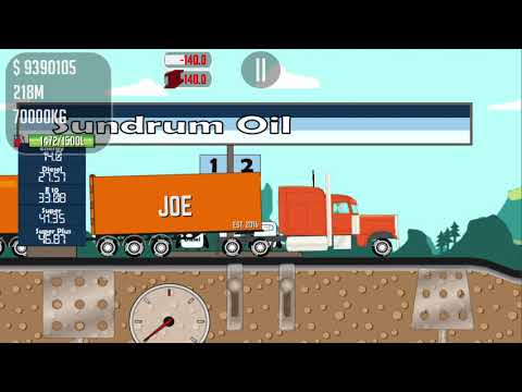 GAME TRUCKER JOE TRANSPORTING STEEL TO A CABLE PLANT CONSTRUCTION SITE