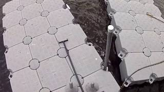 Candock Floating Dock Installation video