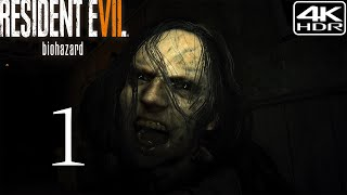 Resident Evil 7 Biohazard  Walkthrough Gameplay 1 Finding Mia 4K 60FPS HDR Madhouse