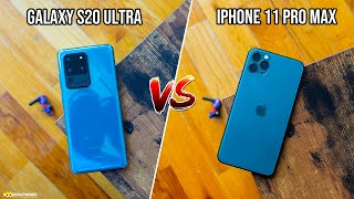 Samsung Galaxy S20 Ultra 5G vs Apple iPhone 11 Pro Max - Which Should you buy?