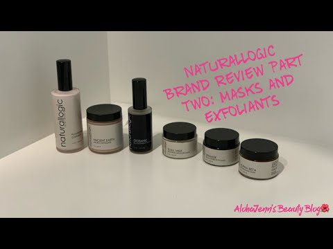 Naturallogic Skincare Brand Review Part 2: Masks & Exfoliants | Green| Clean Beauty