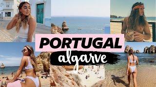 ALGARVE COAST PORTUGAL VLOG! Julia & Hunter Havens