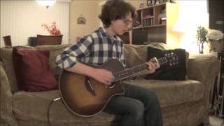 Ed Sheeran Touch and Go (X)    Live Acoustic Guitar Cover & Solo [Loop Pedal] **