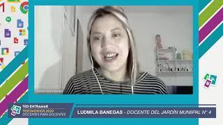 Ludmila Banegas , Jardín Municipal N° 4