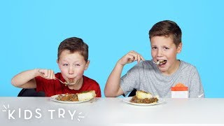 Kids Try Winter Comfort Foods from Around the World | Kids Try | HiHo Kids