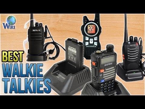 10 Best Walkie Talkies 2018