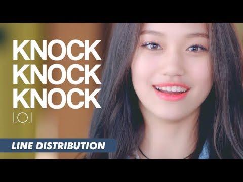 I.O.I (아이오아이) - Knock Knock Knock (똑똑똑) | Line Distribution