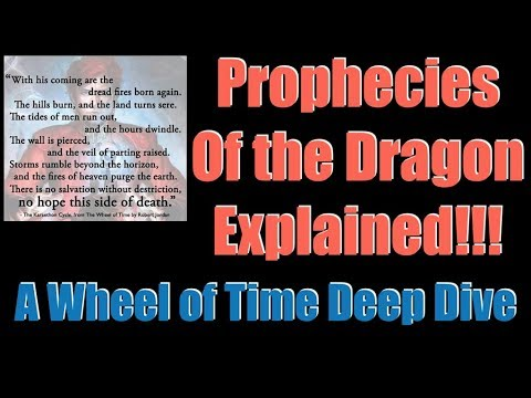 Download The Prophecies Of The Dragon Explained A Wheel Of