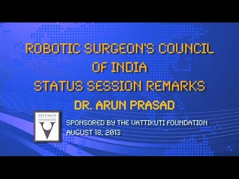 RSC Status Session Remarks Dr Arun Prasad