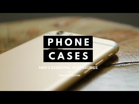 Stylish Phone/Mobile Cases - Men's Essential Accessories - Ringke, Bellroy, Caudabe, Best