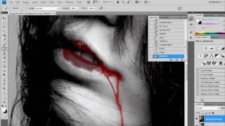 Blood Effect - Photoshop