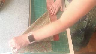 How to Make Mitered Corners  (or Mitred Corners) for your Quilt