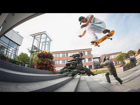 Trent McClung 'Finish Line' - European Tour Video | Primitive Skate
