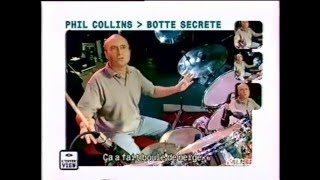 Phil Collins Interview behind drums - 1998 M6 Music - English Version - French Subtitles