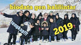 Biodata Gen Halilintar 2019