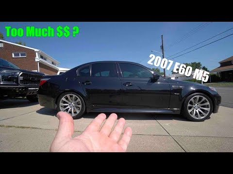 "Did I Pay Too Much For My ""Unreliable"" MINT Condition E60 BMW M5?"