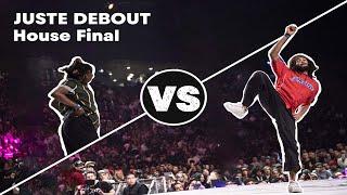 Juste Debout House Final 2018: Toyin & Frankie J vs. Kwame & Serge