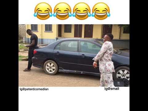 Crippled man stealing goes wrong 😂😂😂