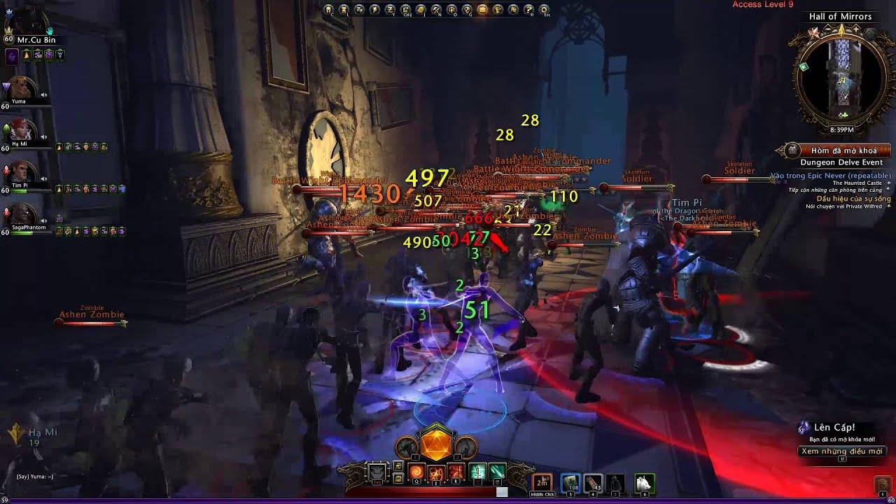 Neverwinter Việt Nam giới thiệu hệ thống Dungeon đặc sắc