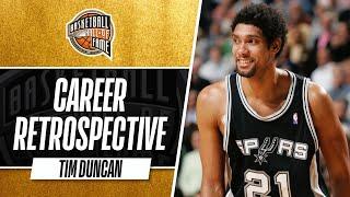 Tim Duncan   Hall of Fame Career Retrospective