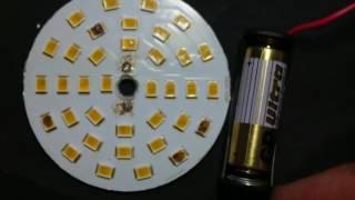 Как паять мелкие светодиоды SMD 2835