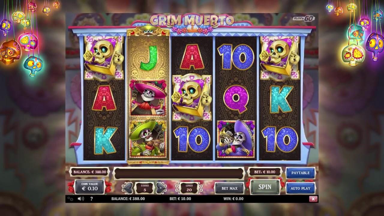Grim Muerto by Playn GO