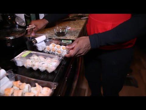 Moji Sushi (From Walmart) Taste Test