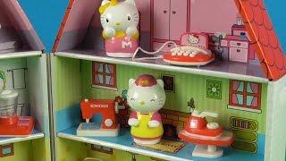 Hello Kitty Paper Kraft House Toys for Kids