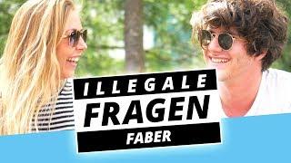 FABER Nackt Vorm Polizisten?!   Illegale Fragen