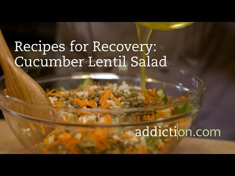 Recipes for Recovery: Cucumber Lentil Salad