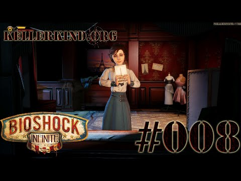 Bioshock Infinite [HD|60FPS] #008 - Elizabeth ★ Let's Play Bioshock Infinite