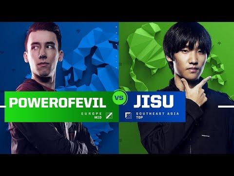 PowerOfEvil vs. Jisu | 1v1 Tournament | 2017 All-Star Event