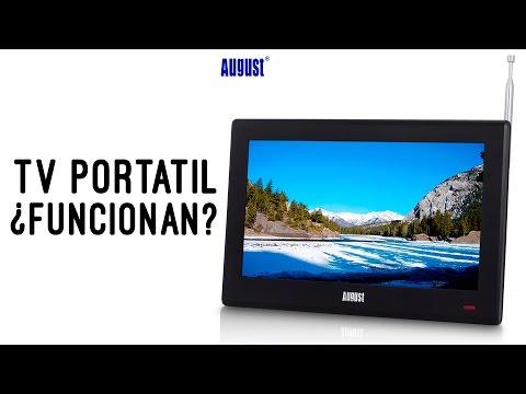 Funcionan Bien las TV Portatiles? Review August DA100D
