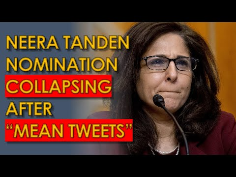 "Neera Tanden ""Mean Tweets"" puts OMB Confirmation on Brink of COLLAPSE"
