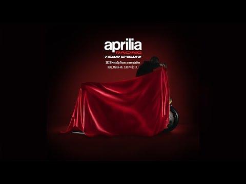 Aprilia Racing Team GresiniがMotoGP2021年のチーム体制と2021年マシンを発表ライブ配信動画