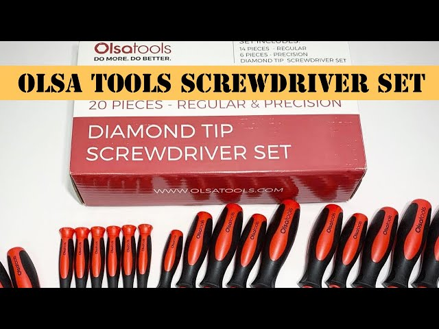 Youtube Video for Screwdriver Set (20pc or 14pc Sets) by AutobahnDan