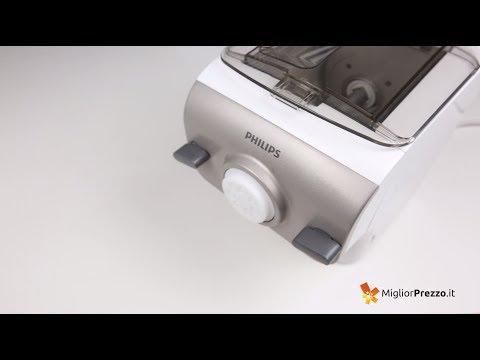 Macchina per la pasta Philips HR 2355/09 Video Recensione