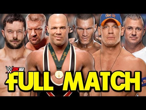 WWE Survivor Series 2017 - Team RAW vs. Team SmackDown (FULL MATCH Simulation)