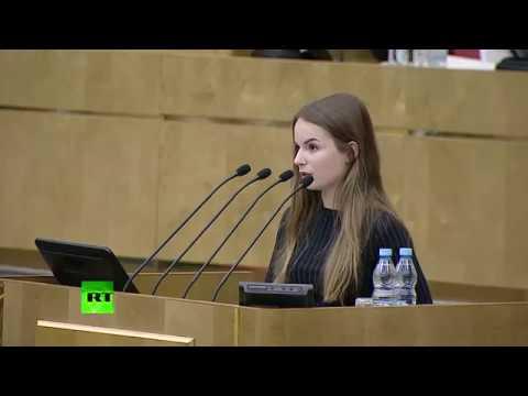 Саша Спилберг на заседании Госдумы РФ: Каждое моё видео — это мини-выборы