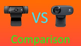 Logitech C920 VS Logitech C310 Webcam Comparison [OLD]