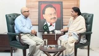 JeayPakistan kay Saath Senator Nasreen Jalil MQM Part 1