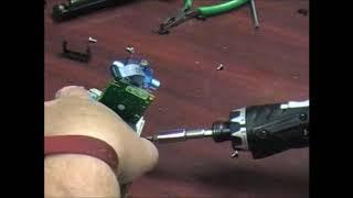 Replacing an Alaris(CareFusion) 8100 Pump Bezel