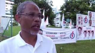 Masagos Zulkifli Interview (Tampines GRC)