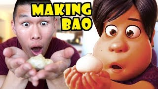 Making BAO Official Recipe from Pixar Short || Life After College: Ep. 603