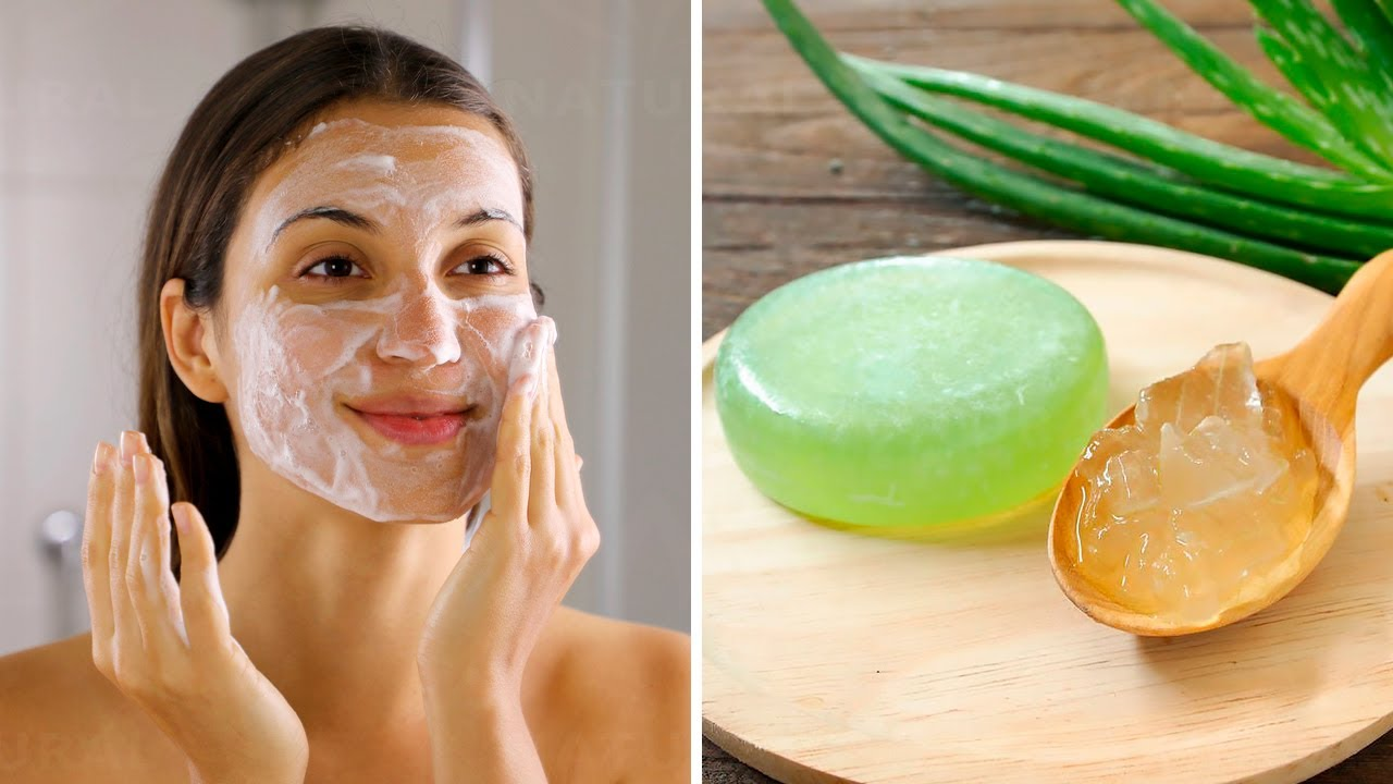 How to make aloe vera soap without caustic soda
